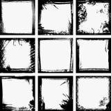 Marcos de Grunge Fotografía de archivo libre de regalías