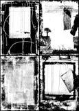 Marcos de Grunge Fotografía de archivo