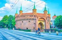 Marcos de Krakow, Polônia Imagens de Stock