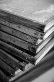 Marcos de la cera de la colmena Imágenes de archivo libres de regalías