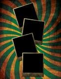 Marcos de la foto de Grunge Fotografía de archivo libre de regalías