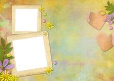Marcos de la foto de la vendimia Foto de archivo libre de regalías