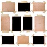 Marcos de la foto de la vendimia fijados Fotografía de archivo libre de regalías