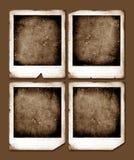 Marcos de la polaroid de la vendimia Imágenes de archivo libres de regalías