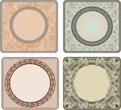 marcos de la vendimia Foto de archivo libre de regalías