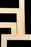 Marcos de madera imagenes de archivo