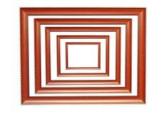 Marcos de madera Foto de archivo