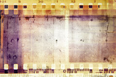 Marcos de película Foto de archivo libre de regalías