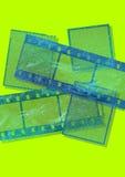 Marcos de película Foto de archivo