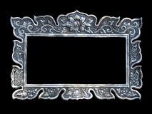 Marcos de plata Imágenes de archivo libres de regalías