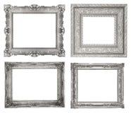 Marcos de plata Fotos de archivo
