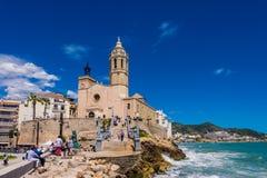 Marcos de Sitges Foto de Stock Royalty Free