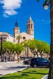 Marcos de Sitges Foto de Stock