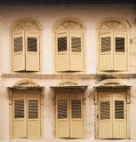 Marcos de ventana Foto de archivo libre de regalías