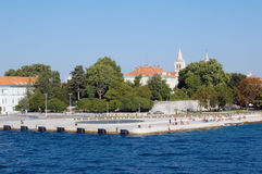 Marcos de Zadar Imagem de Stock