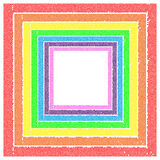Marcos del arco iris Foto de archivo