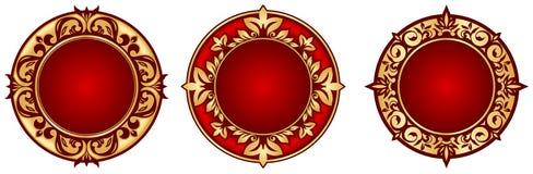 Marcos del círculo Foto de archivo