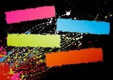 Marcos del espectro Imágenes de archivo libres de regalías