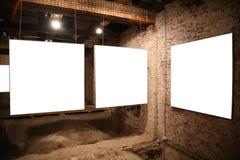 Marcos en blanco blancos Fotografía de archivo libre de regalías