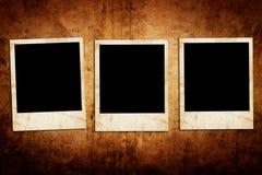 Marcos en blanco de la foto Fotos de archivo libres de regalías