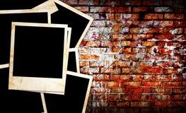 Marcos en blanco de la foto Foto de archivo