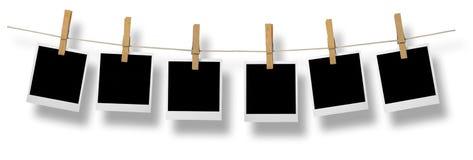Marcos en blanco de la foto Imágenes de archivo libres de regalías