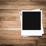 Marcos en blanco de la foto y espacio libre en lado izquierdo Foto de archivo libre de regalías