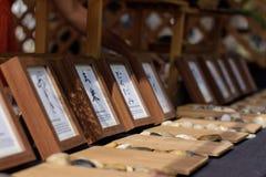 marcos en el festival japonés Foto de archivo