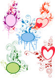 Marcos florales libre illustration