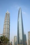 Marcos modernos de Shanghai Fotos de Stock
