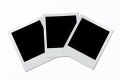 Marcos polaroid Fotografía de archivo