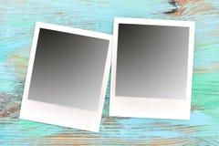 Marcos retros de la foto del estilo Textura rasguñada de la tabla Fotos de archivo libres de regalías