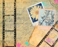 Marcos retros de la vendimia Foto de archivo libre de regalías