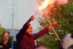 Marcos Tavares, Captain of NK Maribor Stock Photo