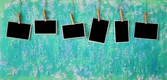 Marcos vacíos de la foto Fotos de archivo libres de regalías