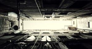 Marcos venecianos de la perspectiva de la arquitectura Imágenes de archivo libres de regalías