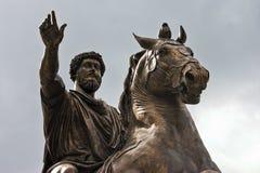 Marcus Aurelius Antoninus Augustus Royalty Free Stock Images