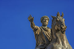 Marcus Aurelius emperor of Rome Stock Photography