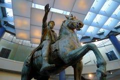 Marcus Aurelius på Musei Capitolini, Rome Royaltyfri Bild