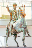 Marcus Aurelius Statue Rome Italy Royalty Free Stock Photos