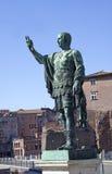 Marcus Cocceius Nerva, roman imperator, 30-98 AD. Statue of Marcus Cocceius Nerva, roman imperator, 30-98 AD Stock Images