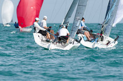 Marcus Eagan of Mandeville LA wins Corinthian title at Melges 20 Royalty Free Stock Photo