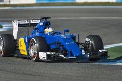 Marcus Ericsson Jeres 2015 Stock Images