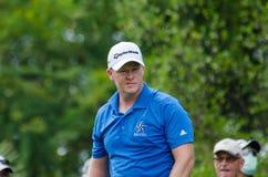 Marcus Fraser dans le championnat 2015 de golf de la Thaïlande images libres de droits