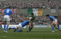 Marcus Horan,Ireland V Italy,6 Nations Rugby Royalty Free Stock Photos