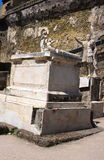 Marcus Nonius standbeeld-iv-Herculaneum-Italië Royalty-vrije Stock Foto's