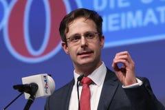 Marcus Pretzell, der deutschen rechten Partei AFD Lizenzfreies Stockfoto