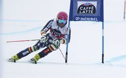 Marcus Sandell  2015 World Cup in Meribel Stock Photos