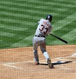 Marcus Thames. Professional ballplayer Marcus Thames of the Detroit Tigers Stock Image
