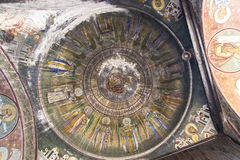 Marcuta church - dome royalty free stock photo